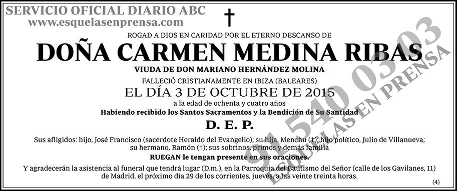 Carmen Medina Ribas